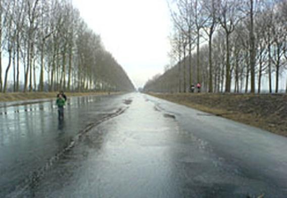 Schaatsen in Vlaanderen nauwelijks mogelijk