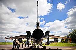 De vloot F16's is gestaag aan het inkrimpen.bdw<br>