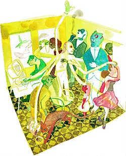 Randall C. door <br>Brecht Evens.<br> Brecht Evens<br>