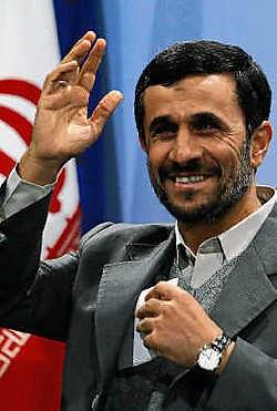 Mahmoud Ahmadinejad, president van Iran. ap<br>