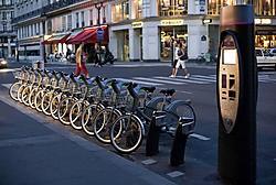 In Parijs zijn de Vélib-fietsen van JCDecaux al een vertrouwd beeld. Weldra zie je ze ook in Brussel.rr<br>