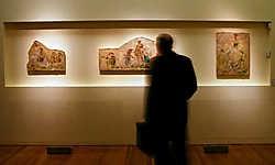 De fresco's van Bruno Schulz.epa<br>