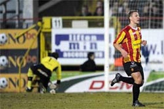 KV Mechelen houdt Genk van derde plaats