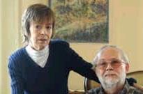 Koen Aurousseau en zijn vrouw Magda. 'Wij hebben nooit een vlieg kwaad gedaan. En toch hebben ze ons moreel en financieel gekraakt.'