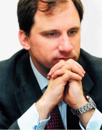 Majoor Reid Sawyer: 'Al-Qaeda kan rustig afwachten.' Ivan Put