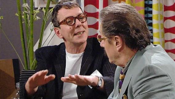 Herman Verbruggen, alias Markske (links) met Marijn Devalck, alias Boma. 'Het verhaal was gewoon niet goed genoeg', aldus Verbruggen.VRT