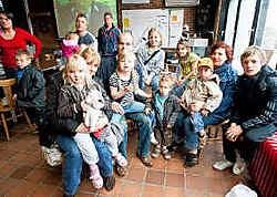 Jolanda, Marcel en de kinderen: 'We beseften aanvankelijk niet dat er een ongeval gebeurd was.' Stijn Hermans