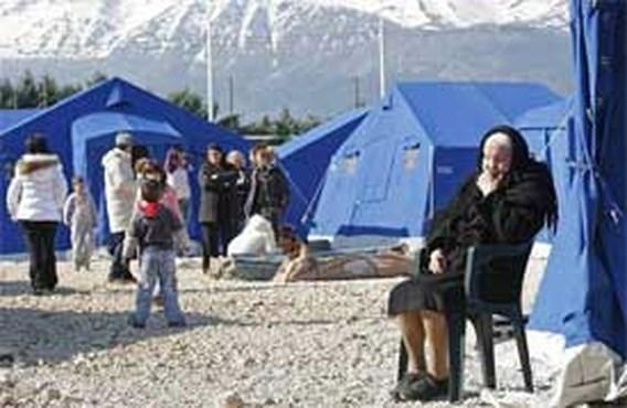Berlusconi: 'Tentenkamp is weekendje op camping'