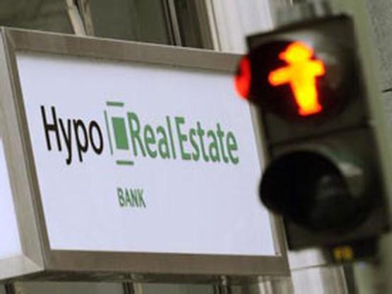 Hypo Real Estate ruim 1 miljard euro in het rood