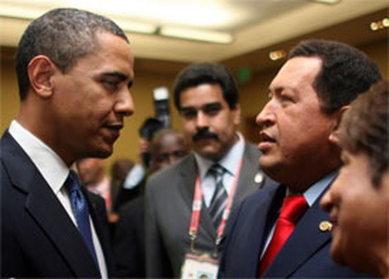 Chavez overweegt ambassadeur in Washington
