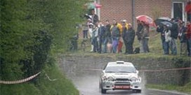 François Duval wint Rally van Wallonië