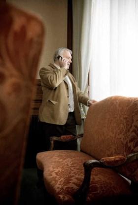 'Dit is politieke moord met voorbedachten rade', briest Jean-Marie Dedecker. Jimmy Kets