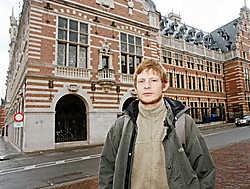 Niels Wynant vind het inschrijvingsgeld niet overdreven hoog. Koen Merens