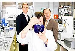 Coo Marc Weyme (rechts) met Gerard Marsman: 'We zijn productiegedreven, niet overnamegedreven.' Thomas De Boever