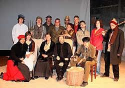 Achttien acteurs en actrices evolueren in uniek kader van de Wiesbeekhoeve Pierre Van Rossem
