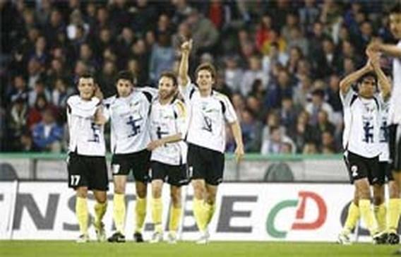 Club Brugge opnieuw onderuit