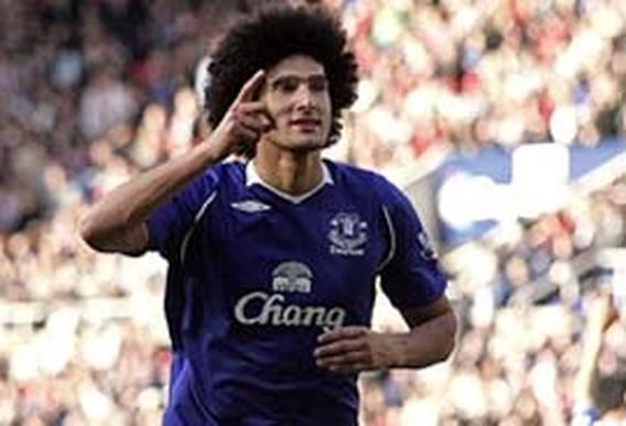 Fellaini helpt Everton aan zege