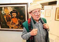 Erik Boone toont onder meer ook zwierige zichten van de Vooruit, het Gravensteen, het Sint-Pietersstation en patisserie Bloch.fvv