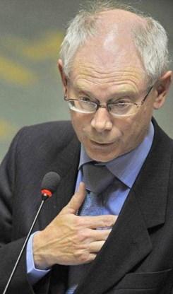 Van Rompuy sust ruzie tussen PS en MR