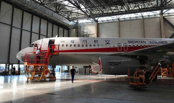 Eerste 'Chinese' Airbus klaar