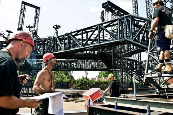 Stageco: 'Wij bouwen het podium van U2'