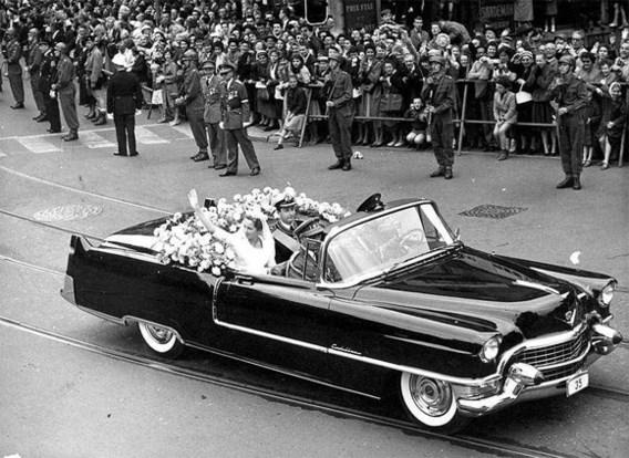 2 juli 1959. Koninklijk huwelijk