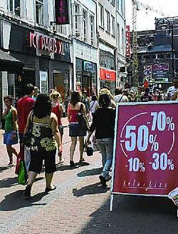 Het publiek in Hasselt is zeer modebewust en koopt eerder een mooie combinatie dan echt prijsbewust te kopen. Kizzy Van Horne