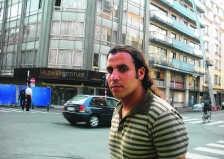 Egor El Mustapha hekelt het optreden van de politie. pom