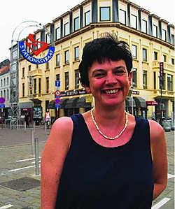 Diana Coppens is een Antwerpse die nog maar twee jaar in Sint-Niklaas woont. Wim Dehandschutter