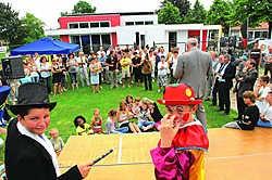 In Sint-Jozef werd de Teen Machine feestelijk geopend. Michel Vanneuville