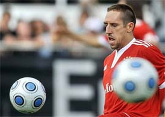 Franck Ribéry in quarantaine door Mexicaanse griep