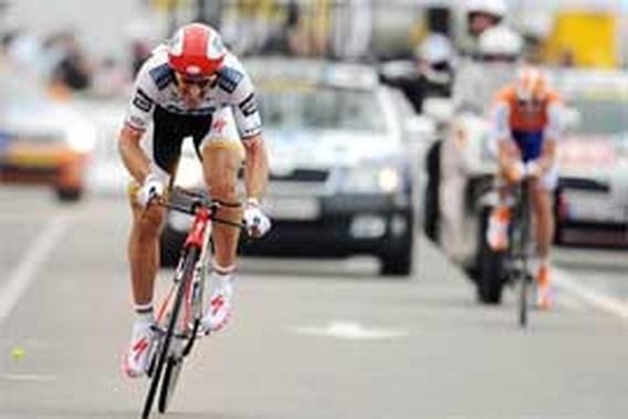 Cancellara maakt favorietenrol waar