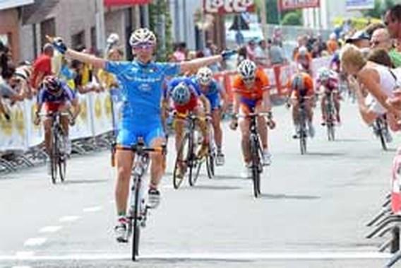Italiaanse juniore Elena Cecchini wint wegrit op EK