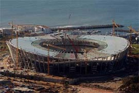 Werken aan WK-stadions hervat
