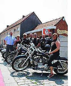 De Harley Davidson Club laat zich positief opmerken.cte