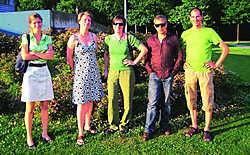 De organisatoren van het Voedselteam in Beveren: 'Nu kan iedereen gezonde producten kopen bij lokale boeren.' Jessy De Wreede