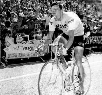 Herman Vanspringel bereikt als eerste Briançon.rr