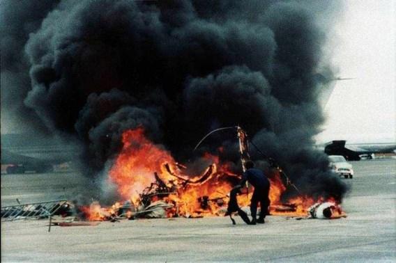 26 juli 1997. Crash op vliegshow Oostende