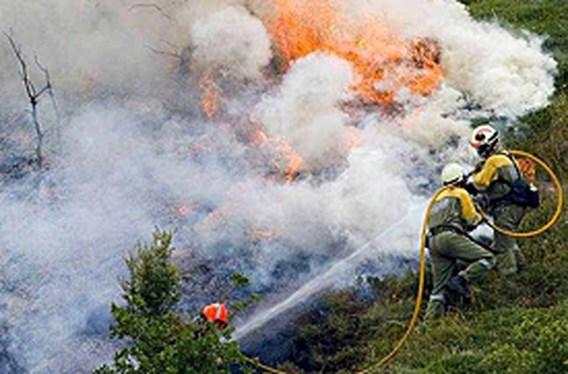 Opnieuw dode bij bosbranden in Spanje