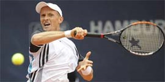 Nikolay Davydenko wint toernooi van Hamburg
