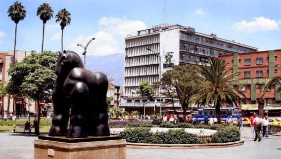 Medellín, de tweede grootste stad van Colombia, waar 75 poëten uit 50 landen welkom waren.shutterstock