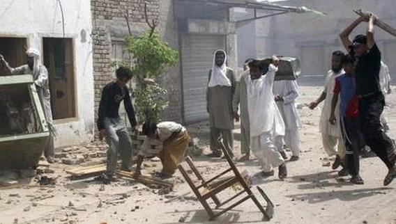 Christenen levend verbrand bij religieus geweld in Pakistan