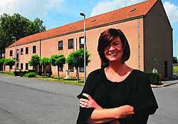 'De gigantische site van de militaire kazerne wordt in verschillende fasen omgebouwd tot een opleidingscentrum', zegt Hella Van de Ven. Michel Vanneuville
