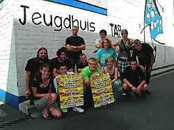 De organisatie van de Tapkesfeesten hoopt op 1.200 tot 1.500 bezoekers voor hun festival. Marc Vergote