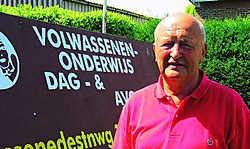 Stichter Albert Inghels is blij met de beslissig van de Raad van State. Dirk Ververs