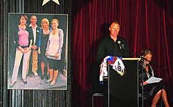 Het gezin was fan van Joël Smets, die kwam spreken op de begrafenis.Louis Verbraeken