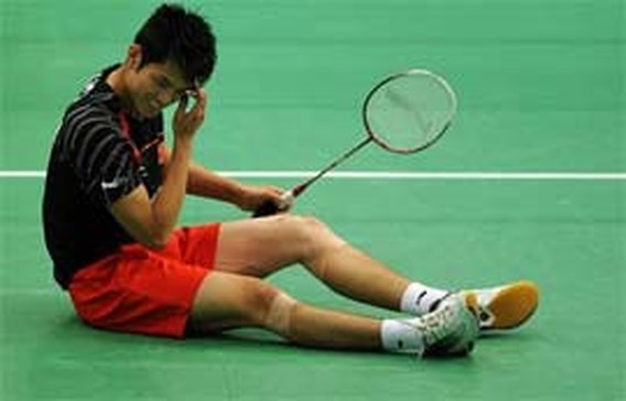 Chinees Lin Dan wint derde goud op rij op WK badminton