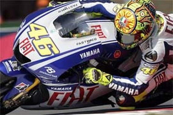 Valentino Rossi aan het feest in de MotoGP