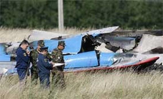 Gevechtsvliegtuigen botsen op Russische vliegshow