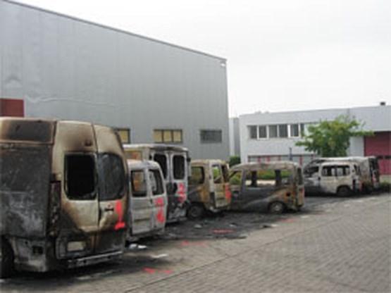 Mogelijk pyromaan aan het werk in Zaventem